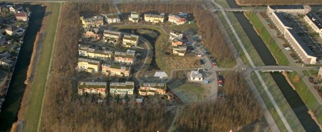 luchtfoto van de Buitenkans